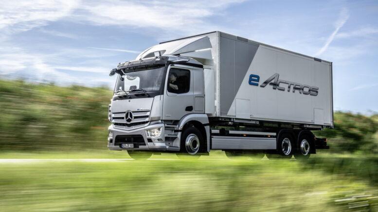 Daimler eActros
